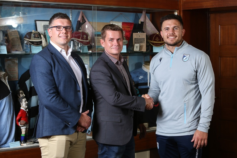 TSW continue their successful partnership with Cardiff Blues